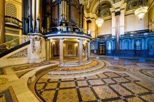 St George's Hall, Liverpool - Minton Tile Floor
