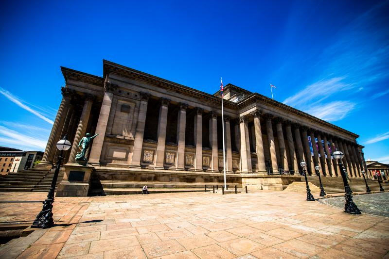 Weddings at St Georges Hall, Liverpool