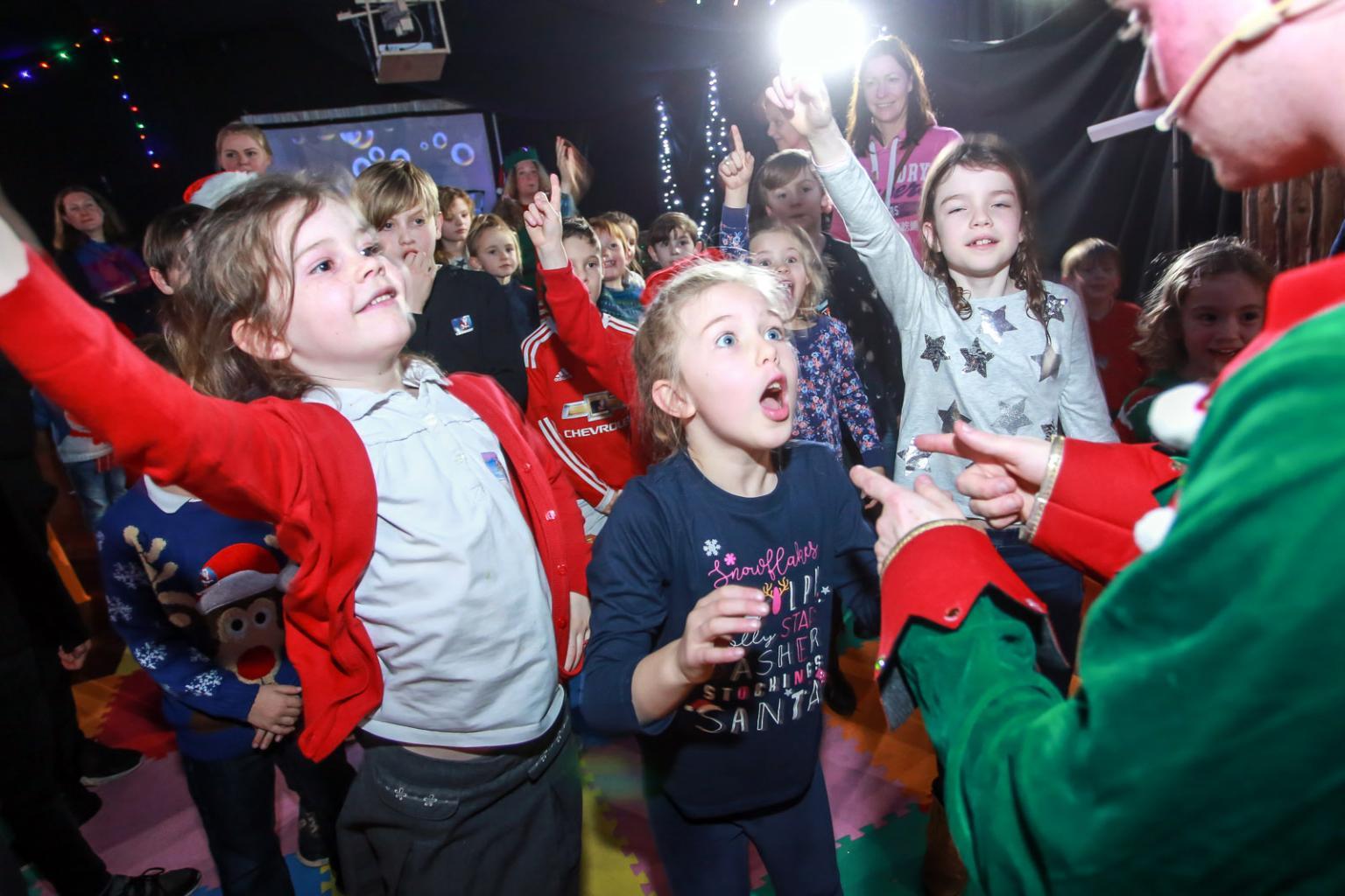 Elf Adventure Challenge at St George's Hall