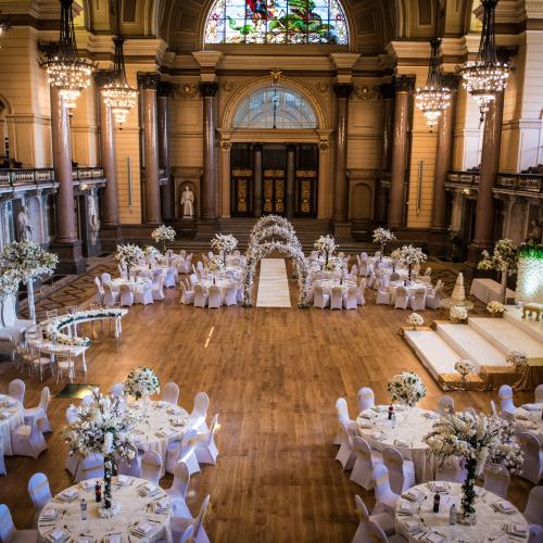 Weddings at The Great Hall, St George's Hall Liverpool