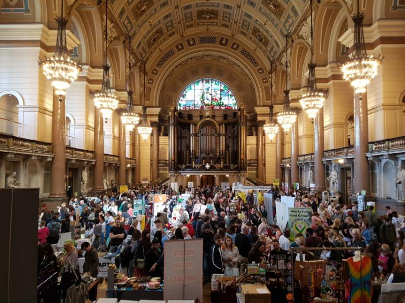 LABL Vegan Fair - St George's Hall, Liverpool